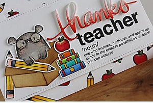 Thanks Teachers Logo